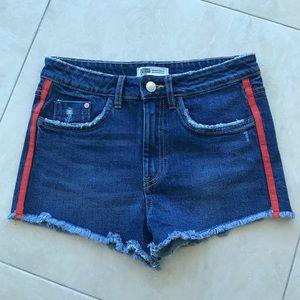 Zara Denim Shorts Brand New Size 2